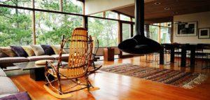 خانه جنگلی به سبک مدرن