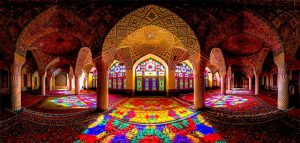 جلوه معماری ایرانی در مسجد نصیرالملک شیراز