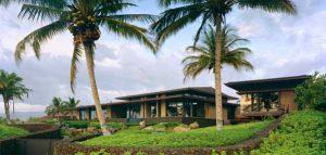 ویلایی رویایی به سبک بالیایی در هاوایی (به همراه تصویر پانورامای سه بعدی)