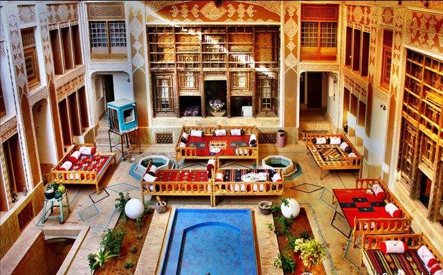 اولین هتل خشت خام جهان در یزد