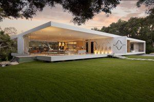 معماری زیبای 'عمارت شیشه ای' با استیو هرمن