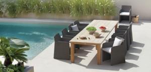 ایده هایی برای میز ناهارخوری در فضای باز!