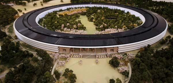 سفينه فضايي ، مقر جدید اپل در کوپرتینو