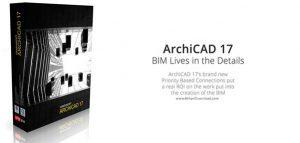 نرم افزار طراحی ساختمان Graphisoft ArchiCAD v17