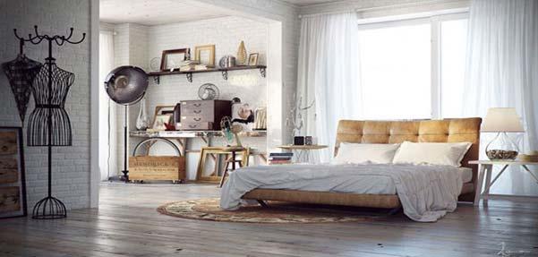 مدلسازی اتاق خواب و تکنیک های آن