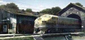 مدلسازی قطار همراه با بافت دهی حرفه ای
