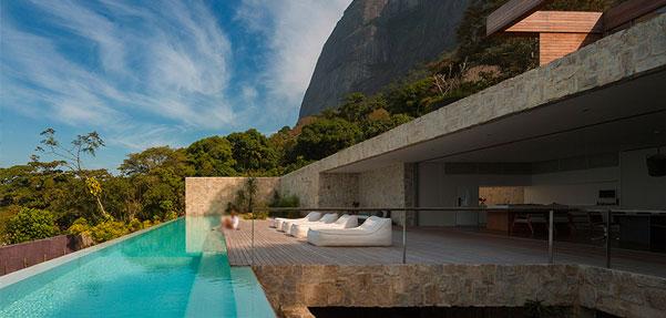 قطعه ای از بهشت/ ویلایی لوکس در برزیل