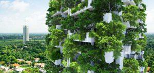 ساخت بلندترین باغ مسکونی جهان کلید خورد