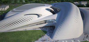 طراحی خیره کننده مرکز تجاری در ایتالیا / طراح:زاها حدید