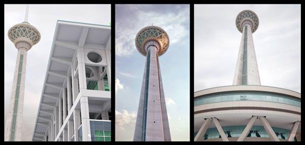 مدل سه بعدی برج میلاد همراه با متریال و تکسچر