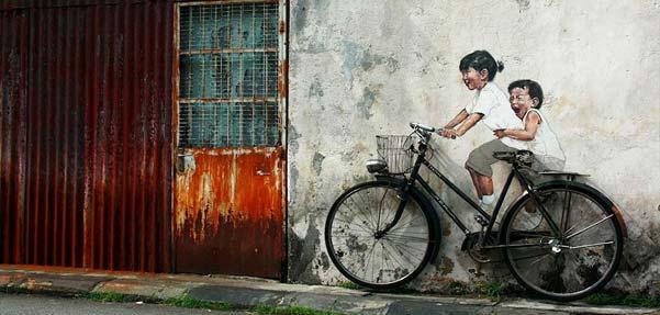 طرح های هوشمندانه از نقاشی خیابانی