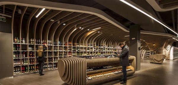 طراحی زیبای مرکز خرید در مجارستان