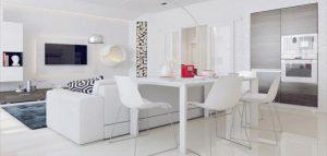 طراحی باور نکردنی یک آپارتمان زیبا با 3dmax و vray