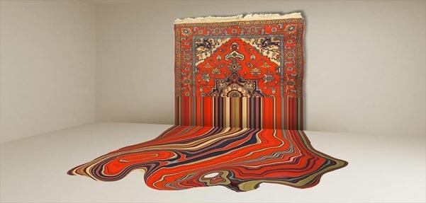 طراحی خلاقانه تابلو فرش های آذربایجان