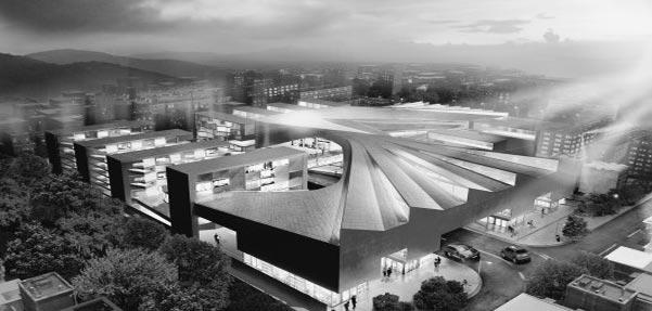 ساخت مرکز تجاری وسیع در اصفهان توسط استودیوی معماری CAAT