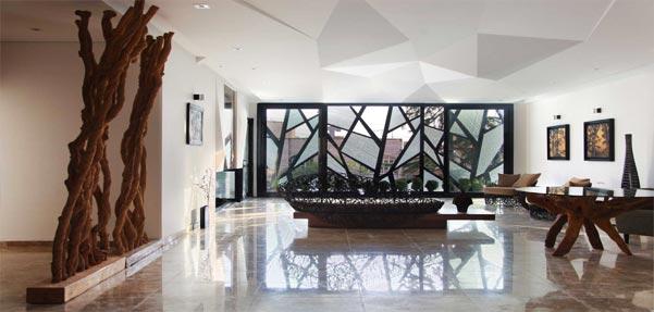 طراحی هنرمندانه آپارتمانی در شمال شرق تهران