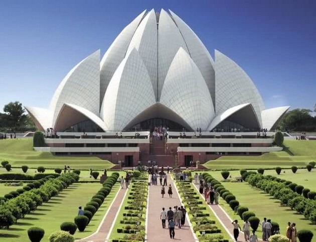 Bahá'í-House-of-Worship-a.k.a-Lotus-Temple-Delhi-India-Copy