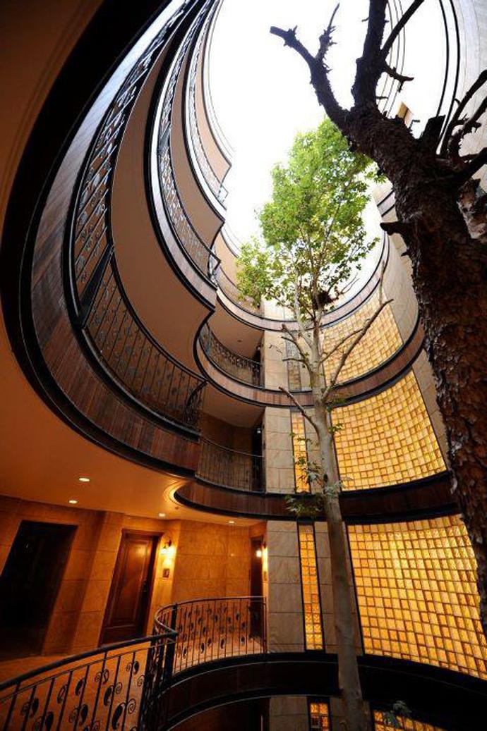 Niavaran Residential Complex designrulz 3 10 اثر برتر معماری ایرانی سال 1393