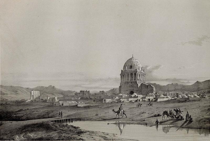 Village_Sultanieh__Iraq_-_Adjemi_by_Eugène_Flandin