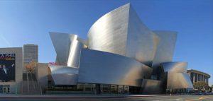 طراحی عجیب و زیبای تالار کنسرت والت دیزنی در لس انجلس