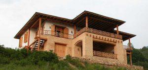 ویلای پارتکلا شاهکار معماری ایرانی در روستاهای مازندران