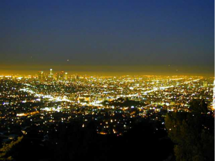 شب لس آنجلس