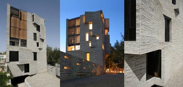 آپارتمان مسکونی محلات ، رتبه اول جایزه معمار سال