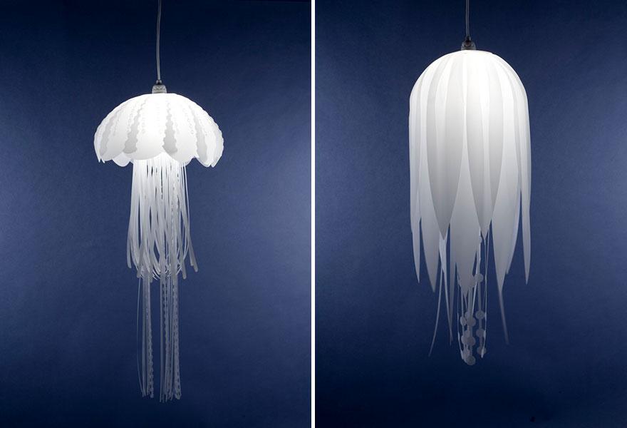 چراغ اتاق خواب عروس دریایی
