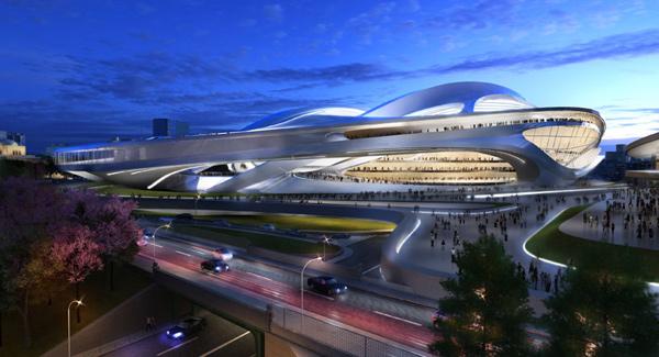 نماي شهري ورزشگاه