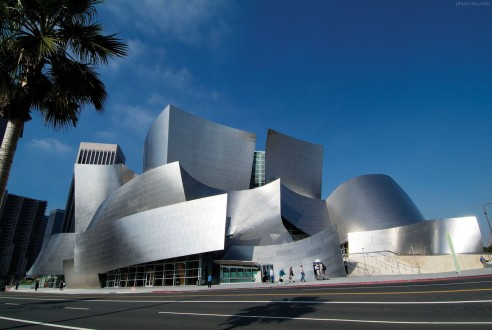 Walt Disney Concert Hall. Frank Gehry, architect. Los Angeles, California. USA.