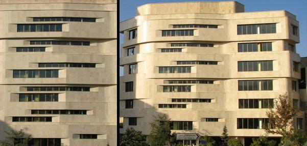 ساختمان اداری نیایش ; طرحی معمارانه در زمینی نا متناسب