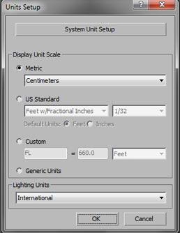 ترفند های رندر Vray system Unit setup