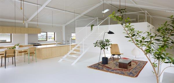 طراحی داخلی با ترکیبی منحصر به فرد / ژاپن
