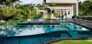 خانه گرمسیری فوق العاده زیبای Dalvey / سنگاپور