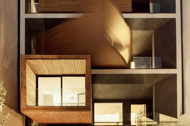 خانه ای متحرک در خیابان دروس تهران!