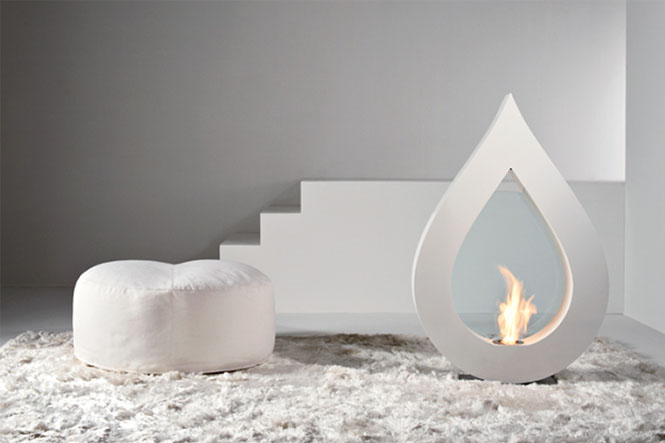 BIG-FLAME-White-teardrop-fireplace