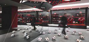 ساختمان جدید باشگاه آ ث میلان