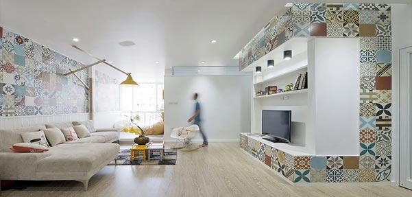 آپارتمان HT ; بازسازی زیبای یک واحد مسکونی
