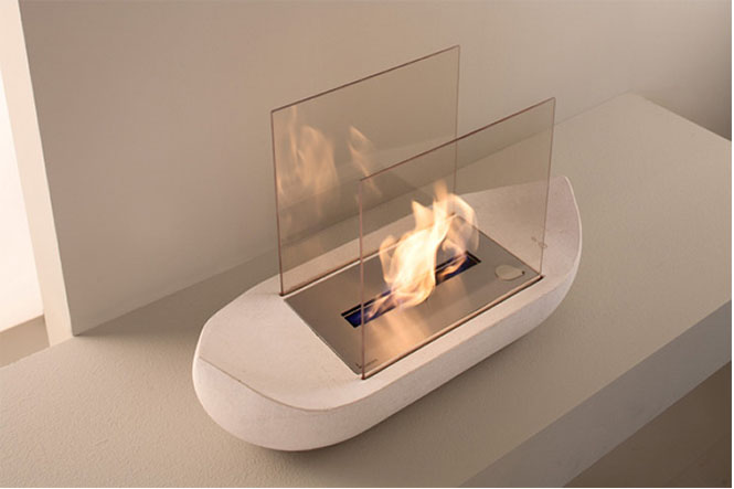 SAIL-Boat-shaped-fireplace