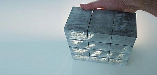 بتن عبوردهنده نور Litracon light Transing concrete