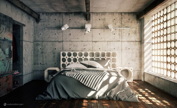 cool-cement-bedroom-600x368