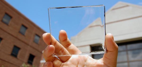 صفحات شفاف خورشیدی LSC