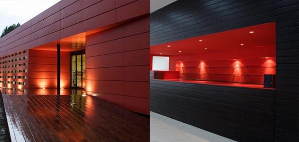 طراحی زیبای شالی شاپ آمل کاری از گروه معماری ارش