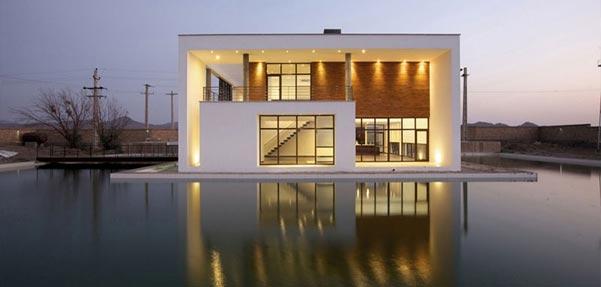 ویلای شمس ; بازتاب معماری ایرانی