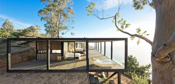 خانه ای با چشم انداز رویایی از WMR / شیلی