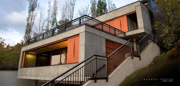 خانه ای برای یک دوست ; رتبه اول جایزه معمار سال