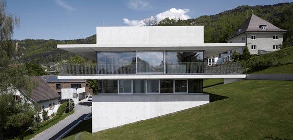 طراحی منحصر به فرد خانه ای در اتریش / marte.marte