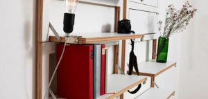 قفسه کتاب کمجا / آمبیوالنز