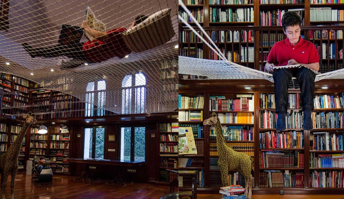 Suspended-reading