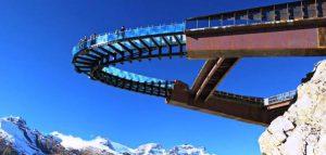 سکوی آسمانی ; پلی معلق بر فراز پارک ملی جاسپر کانادا